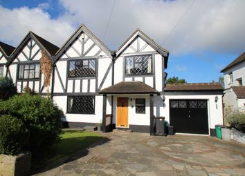 Thumbnail 4 bedroom detached house to rent in Priory Avenue, Petts Wood, Orpington
