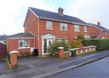 Thumbnail 4 bed semi-detached house for sale in Hillcrest Crescent, Newtownabbey