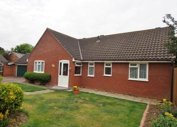 Thumbnail 3 bed detached bungalow for sale in Melton Gate, Wymondham
