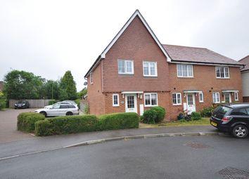Thumbnail 3 bedroom end terrace house to rent in Roman Lane, Southwater, Horsham