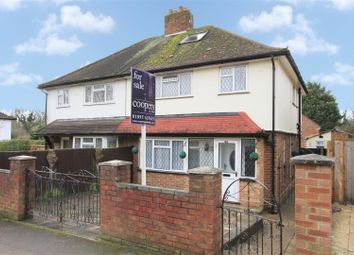 Thumbnail 3 bed semi-detached house for sale in St. Marys Road, Harefield