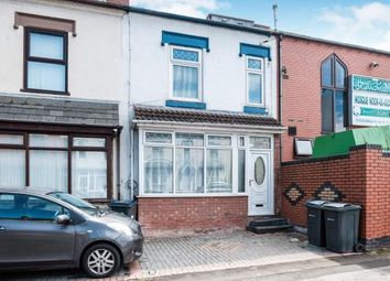 Thumbnail 3 bedroom end terrace house for sale in Somerville Road, Birmingham, West Midlands