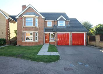 Thumbnail 4 bed detached house for sale in Grant Road, Wainscott, Kent
