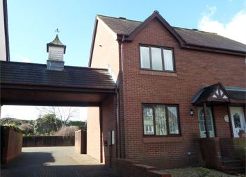 Thumbnail 3 bedroom semi-detached house to rent in River View, Chepstow, Monmouthshire