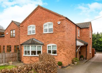 Thumbnail 4 bed detached house for sale in Uttoxeter Road, Hill Ridware, Rugeley