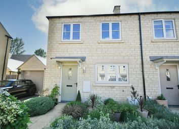 Thumbnail 3 bed end terrace house for sale in Yells Way, Fairford