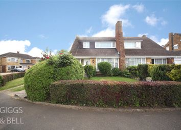 Thumbnail 3 bed semi-detached house for sale in Forrest Crescent, Luton