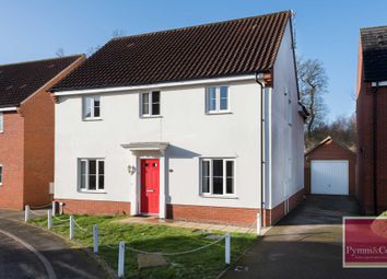 Thumbnail 5 bed detached house for sale in Blyth`S Wood Avenue, Queens Hill, Norwich
