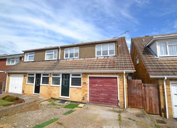 Thumbnail 4 bed semi-detached house for sale in Winchester Avenue, Chatham