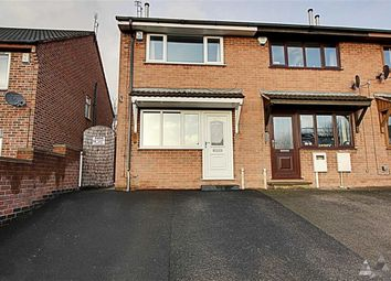 Thumbnail 2 bed end terrace house to rent in Holland Road, Old Whittington, Chesterfield, Derbyshire