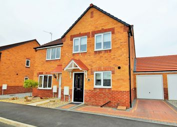 Thumbnail 3 bed semi-detached house for sale in Cemetery Road, Langold, Worksop