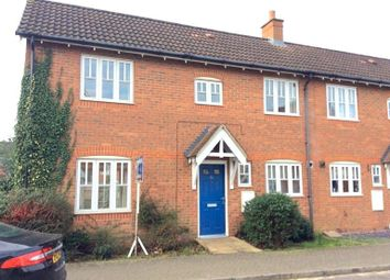 Thumbnail 2 bed end terrace house for sale in Damselfly Road, Ipswich