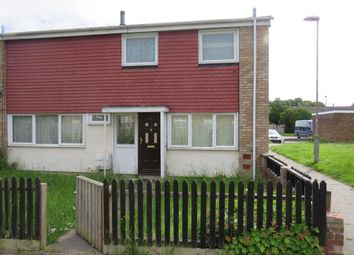 Thumbnail 3 bed end terrace house for sale in Waleys Close, Luton