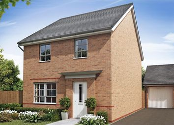 "Thumbnail 4 bed detached house for sale in ""Chester"" at Croft Drive, Moreton, Wirral"