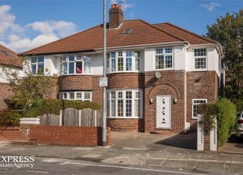 Thumbnail 4 bed semi-detached house for sale in Parkville Road, Withington, Manchester