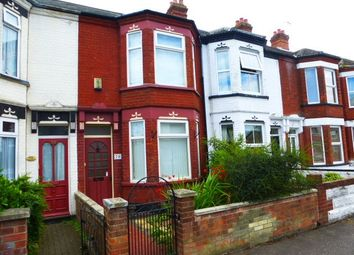 Thumbnail 3 bed terraced house to rent in Hamilton Road, Great Yarmouth