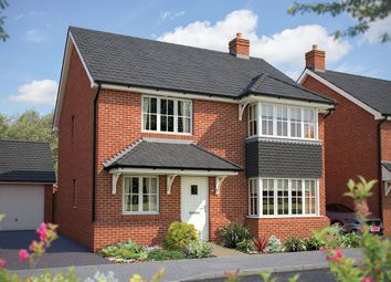 "Thumbnail 4 bed detached house for sale in ""The Canterbury"" at Winchester Road, Hampshire, Botley"
