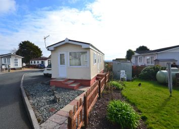 Thumbnail 1 bed mobile/park home for sale in Hill Farm Park, Pembroke Dock