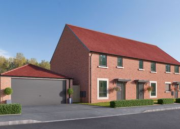 "Thumbnail 3 bed town house for sale in ""The Eveleigh"" at Cautley Drive, Killinghall, Harrogate"