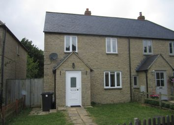 Thumbnail 3 bedroom semi-detached house to rent in Ham Lane, Kempsford, Fairford
