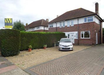 Thumbnail 2 bed semi-detached house for sale in Terringes Avenue, Worthing, West Sussex