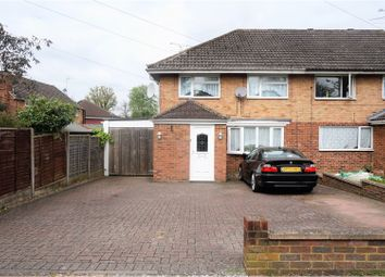 Thumbnail 3 bed semi-detached house for sale in Parkway, Crawley
