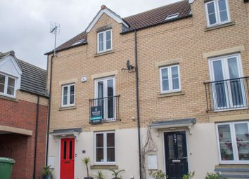 Thumbnail 4 bed town house for sale in Whitby Avenue, Eye, Peterborough