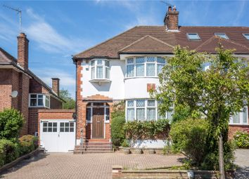 Thumbnail 3 bedroom semi-detached house for sale in Longland Drive, Whetstone, London