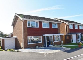 Thumbnail 4 bed detached house for sale in The Willows, Brackla, Bridgend .