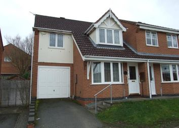 Thumbnail 3 bedroom semi-detached house for sale in Samphire Close, Hamilton, Leicester, Leicestershire