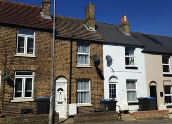 Thumbnail 2 bed terraced house to rent in Tower Street, Dover