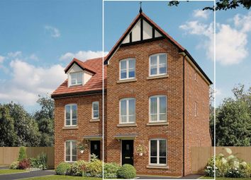 Thumbnail 4 bed semi-detached house for sale in Brooklands, Marsh Lane, Holmes Chapel