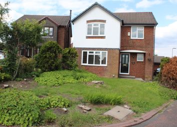 Thumbnail 4 bedroom detached house to rent in Crowshaw Drive, Healey, Rochdale