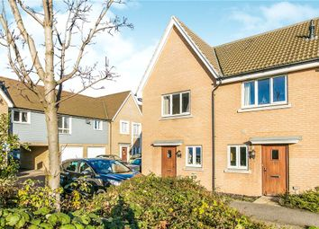 Thumbnail 2 bedroom end terrace house for sale in Ganymede Close, Ipswich, Suffolk