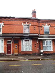 Thumbnail 3 bed terraced house for sale in Warwick Road, Sparkhill, Birmingham