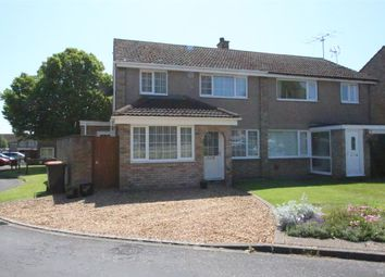 Thumbnail 3 bed semi-detached house for sale in The Hornbeams, Kempston, Bedford