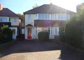 Thumbnail 2 bed semi-detached house to rent in Hermitage Road, Solihull