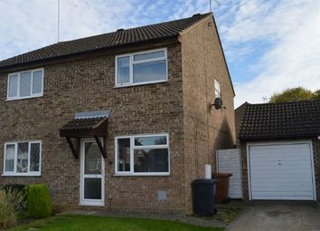 Thumbnail 2 bedroom semi-detached house for sale in Walgrave Close, Little Billing, Northampton