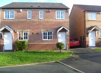 Thumbnail 2 bed semi-detached house to rent in Durham Close, Tamworth, Staffordshire