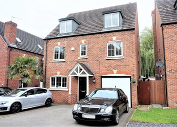 Thumbnail 6 bed detached house for sale in Foxwood Drive, Coventry