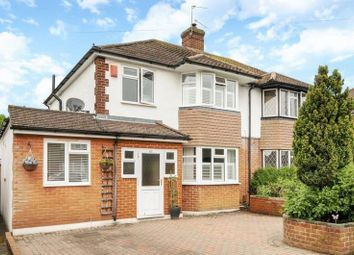 Thumbnail 3 bedroom semi-detached house for sale in Newton Wood Road, Ashtead