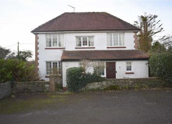 Thumbnail 3 bed detached house for sale in Woodside Close, Bishopston, Swansea