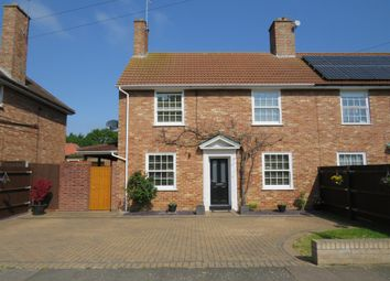 Thumbnail 3 bed semi-detached house for sale in Waveney Road, Bury St. Edmunds