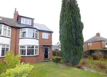 Thumbnail 5 bed semi-detached house to rent in The Drive, Roundhay, Leeds