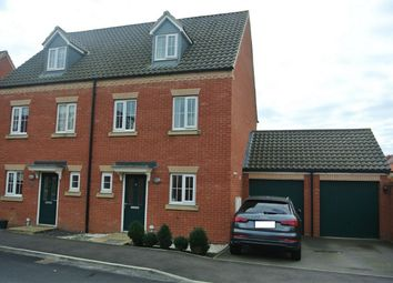 Thumbnail 3 bed semi-detached house for sale in Aintree Way, Bourne, Lincolnshire