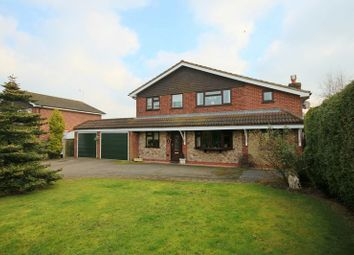 Thumbnail 4 bed detached house for sale in Ash Drive, Haughton, Stafford