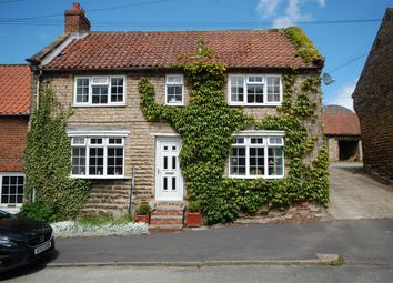 Thumbnail 4 bedroom cottage for sale in Barnsdale Cottage, Main Street, Westow, York