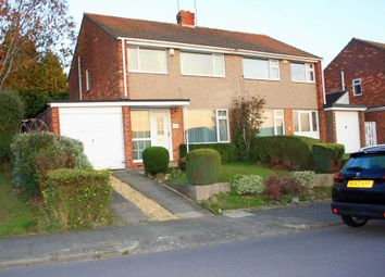 Thumbnail 3 bed semi-detached house for sale in Edgecombe Drive, Darlington