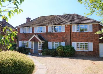 Thumbnail 5 bed detached house for sale in Ridge Close, Woking