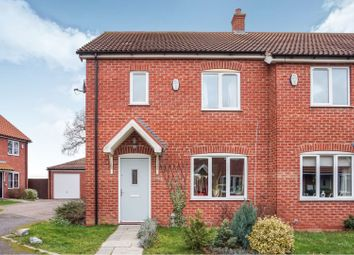 Thumbnail 3 bed semi-detached house for sale in Fallowfield Road, Scartho, Grimsby
